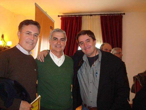 2012-Antequera- Luis García Montero y Francisco Morales Lomas.