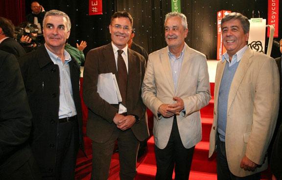 2012-Sevilla- Jose A. Griñán (presidente Junta Andalucia) y Julio Neira.