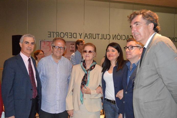 2014-Málaga-Juan José Téllez, María Victoria Atencia, Álvaro García y Enrique Baena.