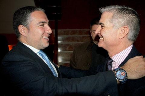 2015- Elías Bendodo Presidente Diputación Málaga.