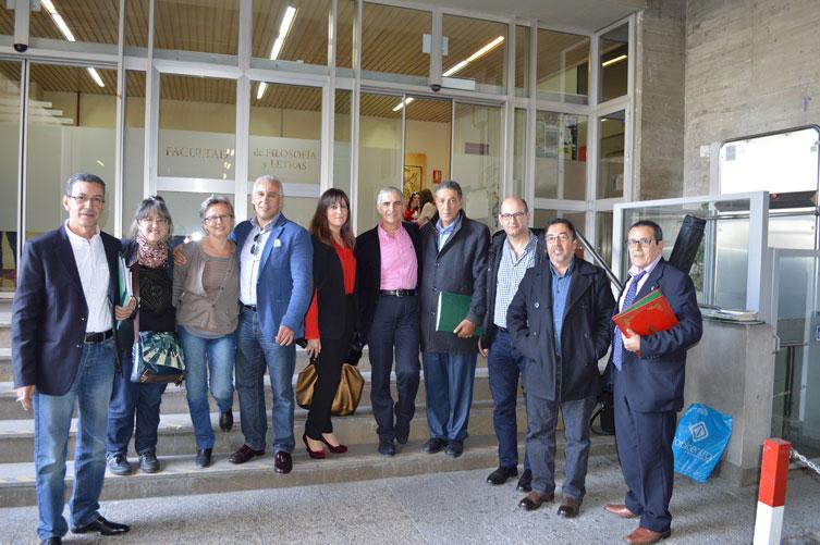 2015-Granada-Hispanistas marroquíes y tunecinos.