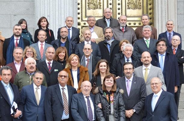 2015-Madrid-Parlamento de España-Constitución del Club de Amigos de Marruecos