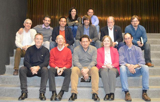 2016-Granada- Allen Josephs, Jorge Galán, Alí Calderón, Sergio Arlandis, Fernando Valverde y Raquel Lanseros, entre otros.